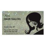 Hair Salon Business Card - choose your color Business Cards