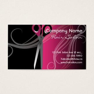 hair salon business cards