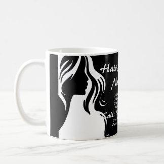 Hair Salon Business Theme Collection Basic White Mug
