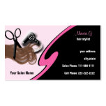 Hair Salon businesscards Business Card Template