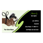 Hair Salon businesscards Business Cards