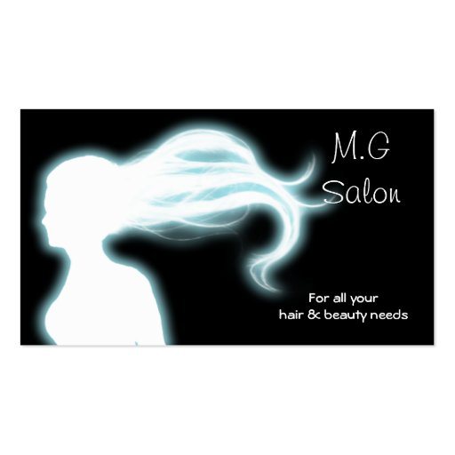 Hair Salon businesscards Pack Of Standard Business Cards