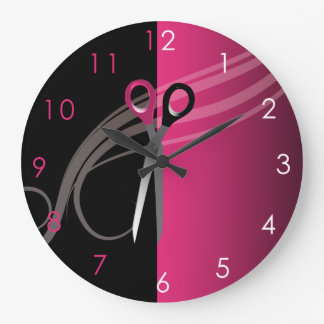 Hair Salon clock