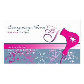 hair salon pack of standard business cards