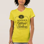 Hair Salon Personalised Business Promotional Top