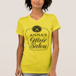 Hair Salon Personalized Business Promotional Top Shirts