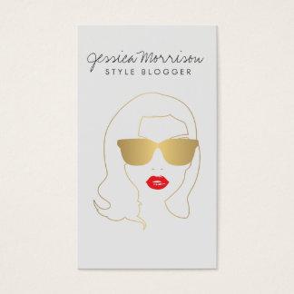 Hair Salon, Style Blogger, Beauty Girl Gold II
