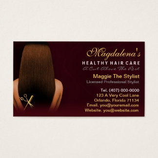 Hair Salon Stylist African American Appointment