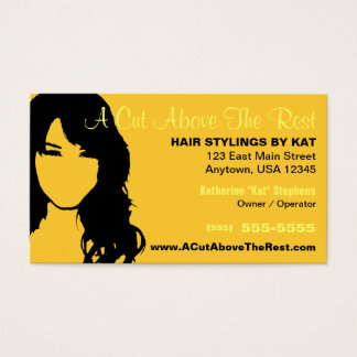 Hair Salon / Stylist Business Card