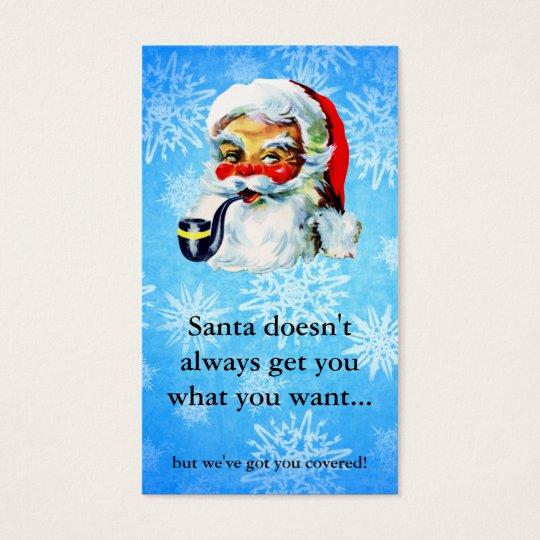 Hair salon stylist holiday coupon gift card xmas