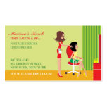 Hair Salon w/Appointment Business Cards