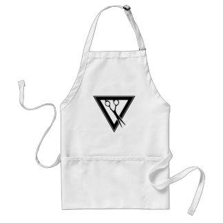 hair scissors triangle standard apron