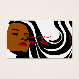 hair style expression business card