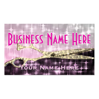 Hair Style Salon Pack Of Standard Business Cards
