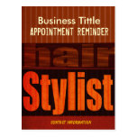Hair Stylist Appointment Reminder