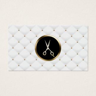 Hair Stylist Beauty Salon Modern Luxury Quilts Business Card