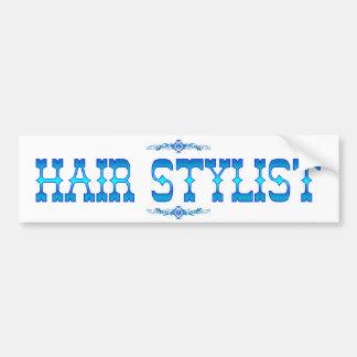 HAIR STYLIST BUMPER STICKER