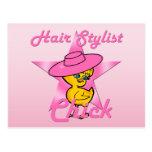 Hair Stylist Chick #8 Postcard