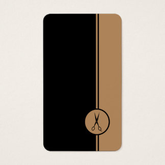 Hair Stylist - Gold and Black Scissors
