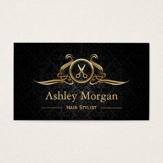 Hair Stylist Gold Scissors Hair Salon Appointment