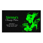 Hair Stylist (Lime) Pack Of Standard Business Cards