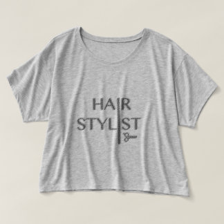 Hair Stylist Logo T-shirt