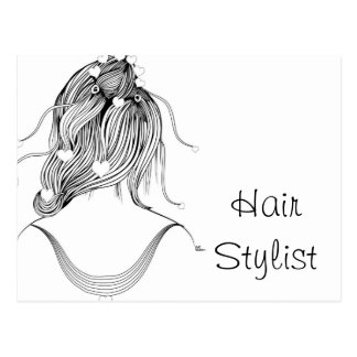 Hair Stylist Postcard