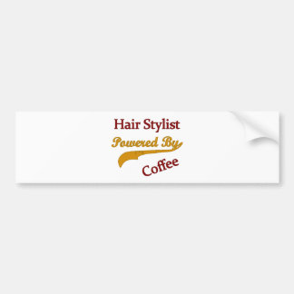 Hair Stylist Powered By Coffee Bumper Stickers