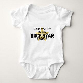 Hair Stylist Rock Star by Night Baby Bodysuit