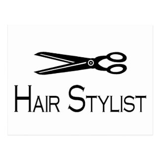 Hair Stylist Scissors Post Cards