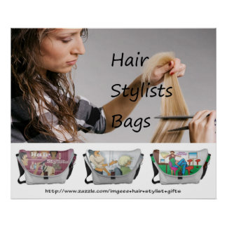 Hair Stylists Bags - Poster