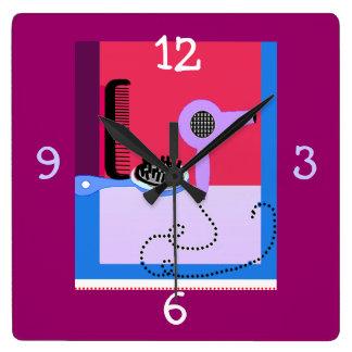 Hair Stylist's clock