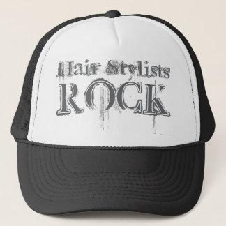 Hair Stylists Rock Trucker Hat