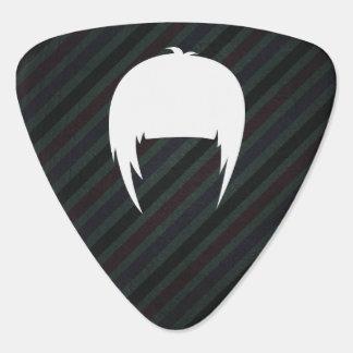 Hair Trims Pictogram Guitar Pick