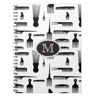 Hair We Go Fashion Spiral Notebooks