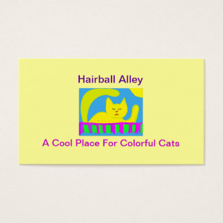 Hairball Alley Business Card