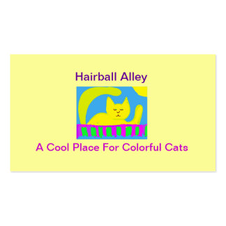 Hairball Alley Pack Of Standard Business Cards