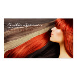 Haircut stylist business card