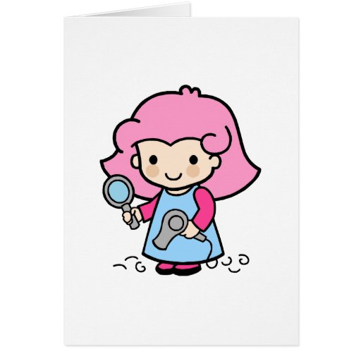 Hairdresser 2 card