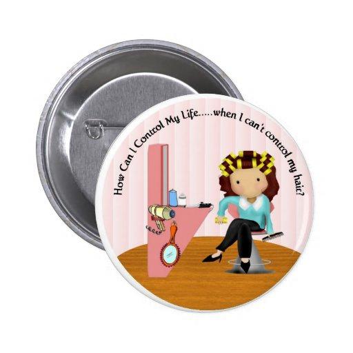 Hairdresser Button