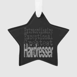 Hairdresser Extraordinaire Ornament