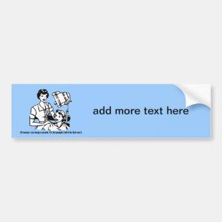 Hairdresser Humor - Of course I can keep a secret Bumper Sticker