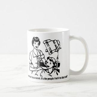Hairdresser Humor - Of course I can keep a secret Coffee Mug