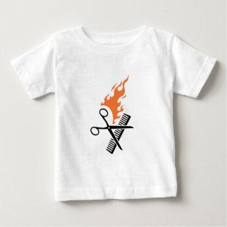 Hairdresser on fire shirt