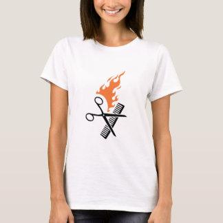 Hairdresser on fire T-Shirt