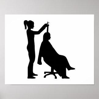 Hairdresser Print