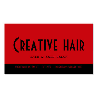 Hairdresser s Appointment Card Business Card
