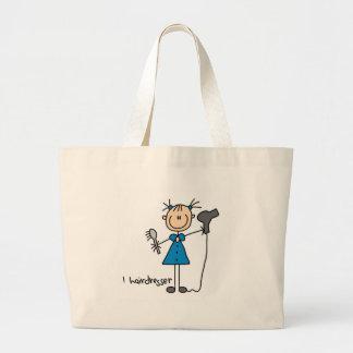 Hairdresser Stick Figure Bag