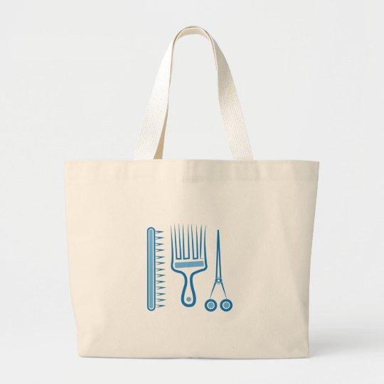Hairdresser Tools Large Tote Bag