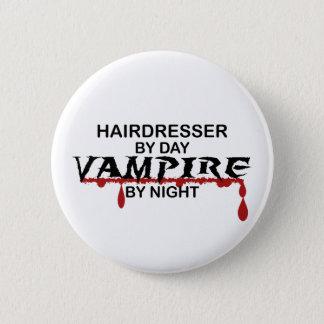 Hairdresser Vampire by Night 6 Cm Round Badge
